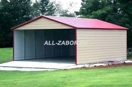 Из чего дешево сделать гараж: правила постройки из различных материалов