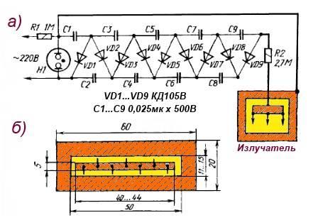 Делаем бытовой озонатор воздуха своими руками — необходимые компоненты и пошаговая инструкция. озонатор своими руками