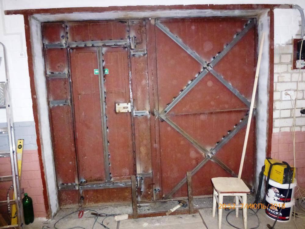 Как нарастить ворота гаража в высоту: пошаговый мастер-класс   мастремонт.ру
