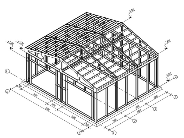 Строим гараж из сэндвич-панелей своими руками - пошаговая инструкция