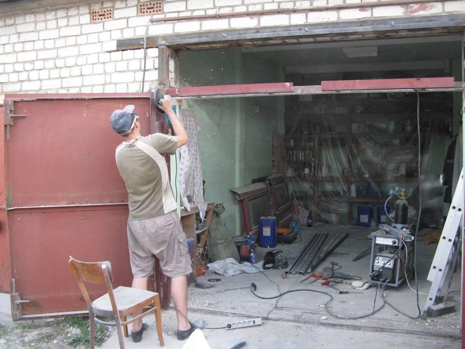 Как поднять гараж своими руками: для чего это нужно и способы выполнения