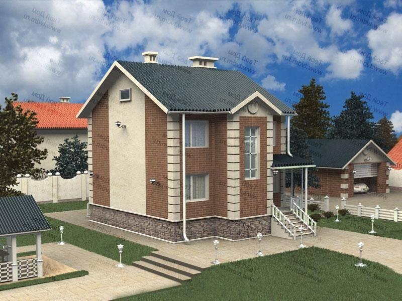 Проекты домов с мансардой: преимущества и особенности, примеры проектов, фото