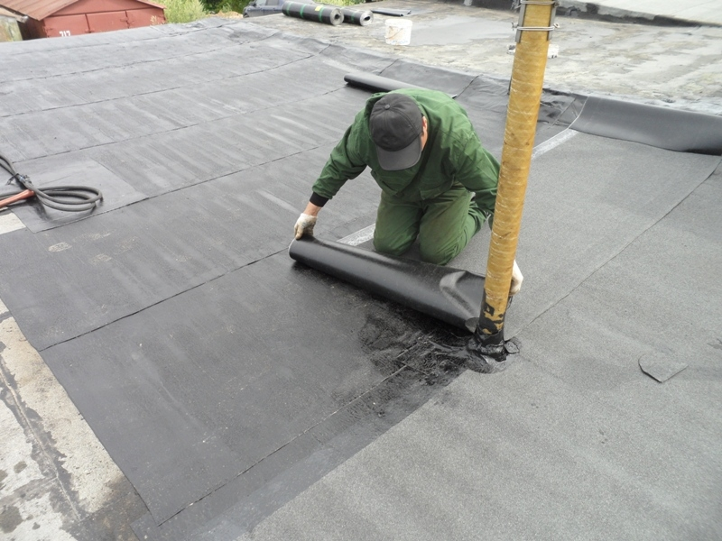 Ремонт деревянной крыши гаража