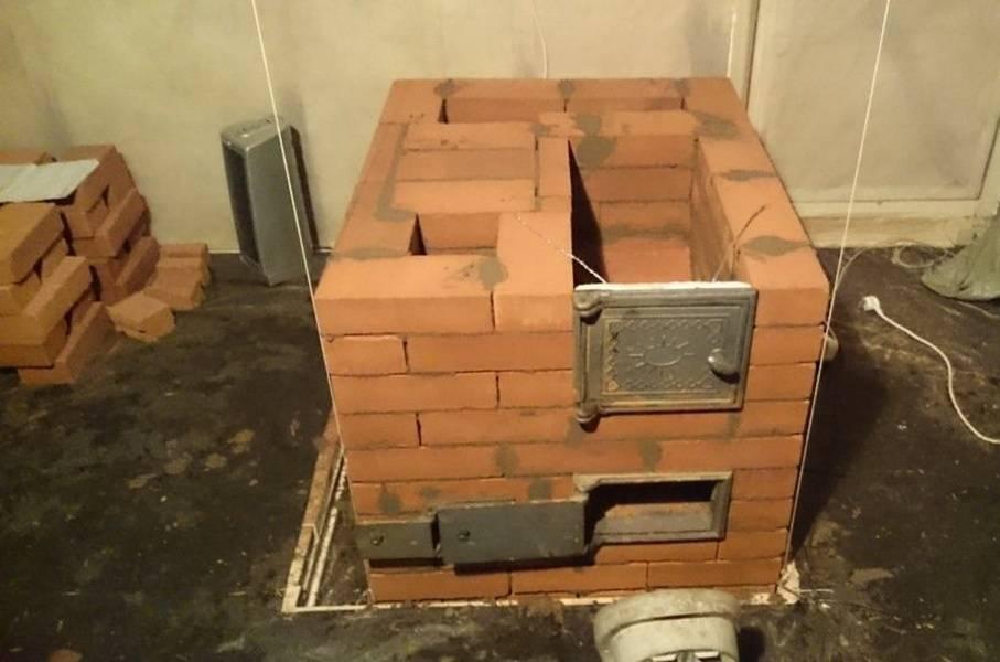 Постройка разных печей в гараж своими руками