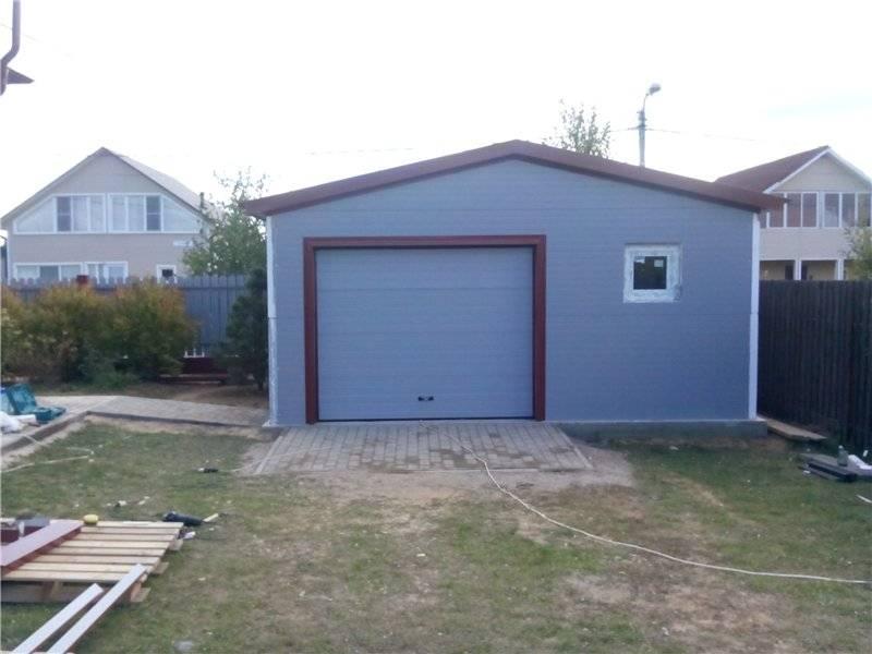 Из какого материала лучше построить гараж