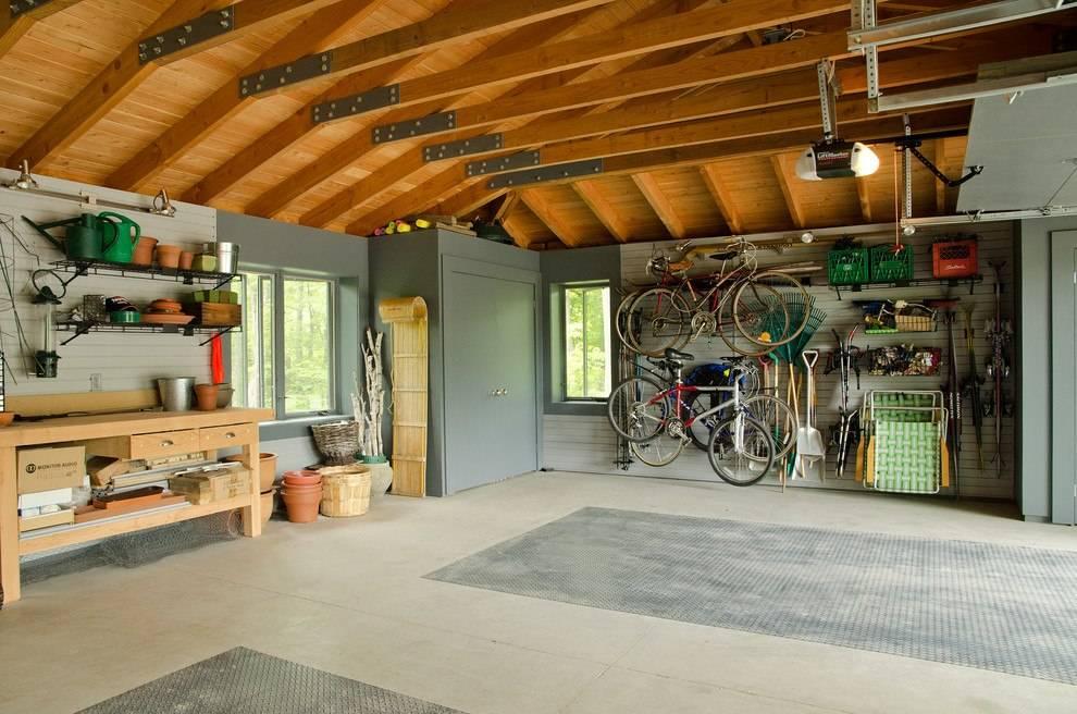 Идеи для организации пространства в гараже