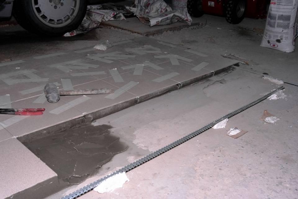 Выравнивание бетонного пола в гараже: какие методы эффективны?