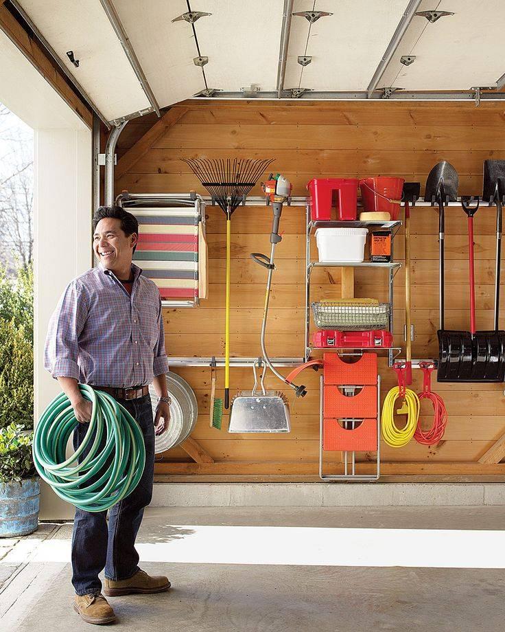 Как обустроить гараж внутри — планировка, отделка, системы хранения