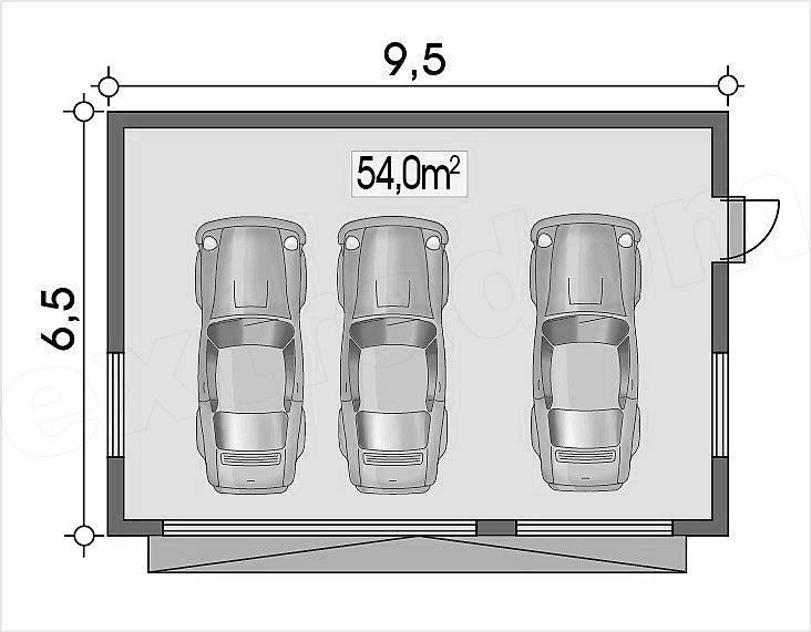 План гаража для максимального комфорта и удобства