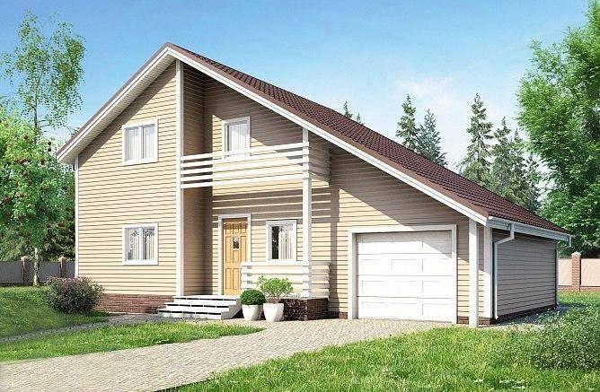 Каркасное помещение над гаражом - строительство и монтаж пошагово