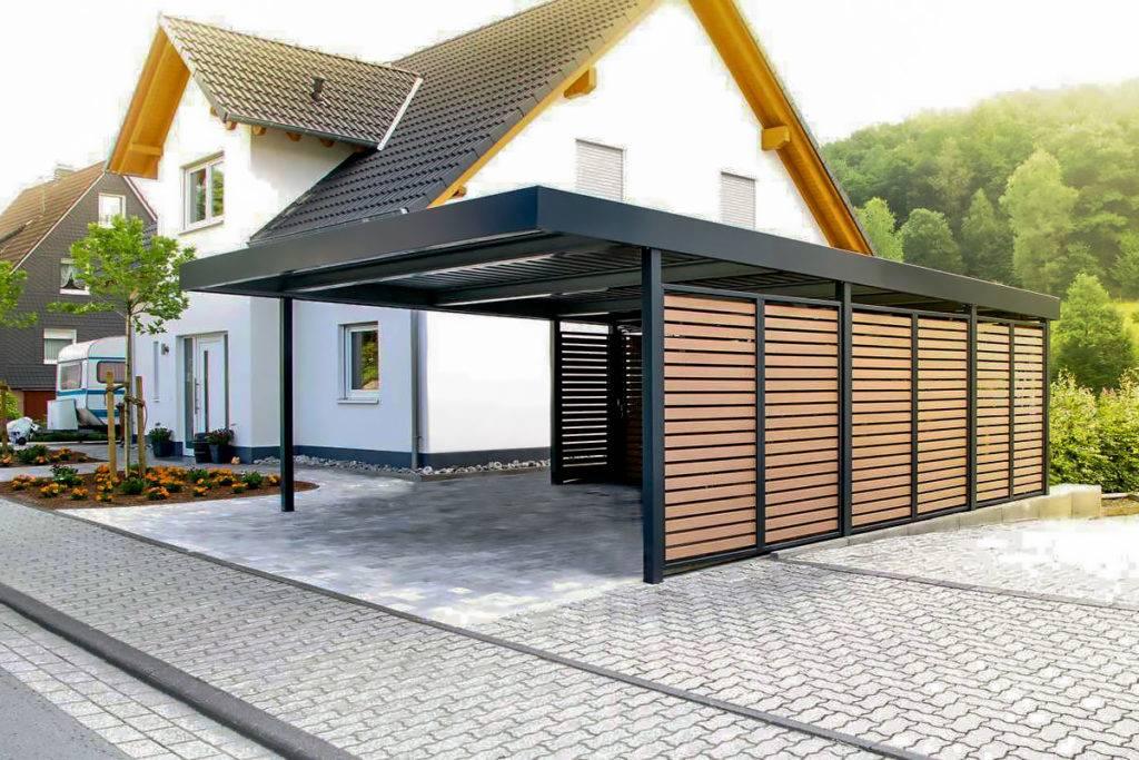 Проекты гаражей с хозблоком: варианты и способы их реализации + фото