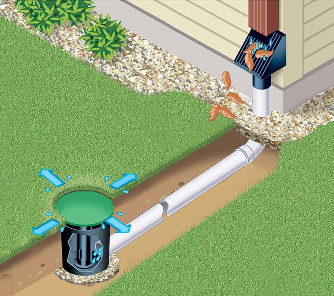 Эффективные способы дёшево осушить участок от воды своими руками