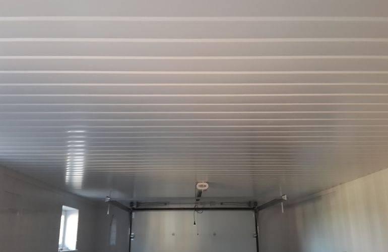 Чем подшить потолок в гараже: быстро и недорого своими руками