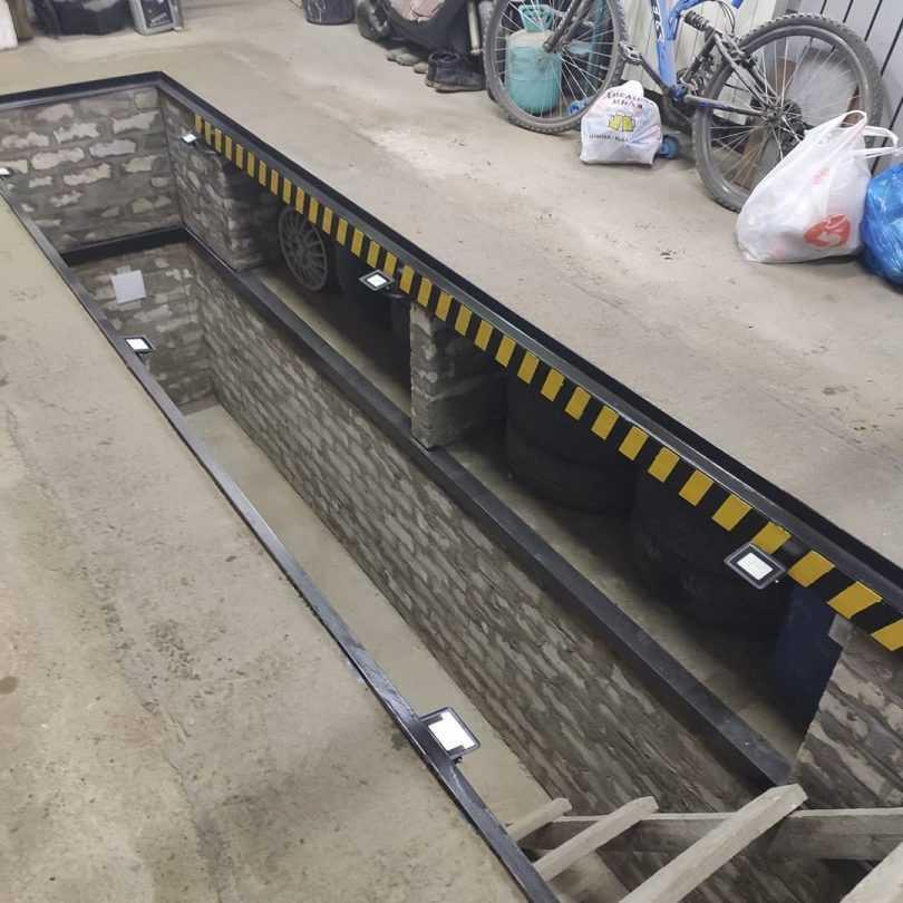 Смотровая яма в гараже своими руками: технология строительства
