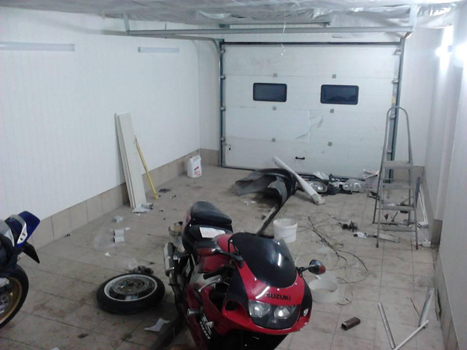Рукомойник в гараже своими руками