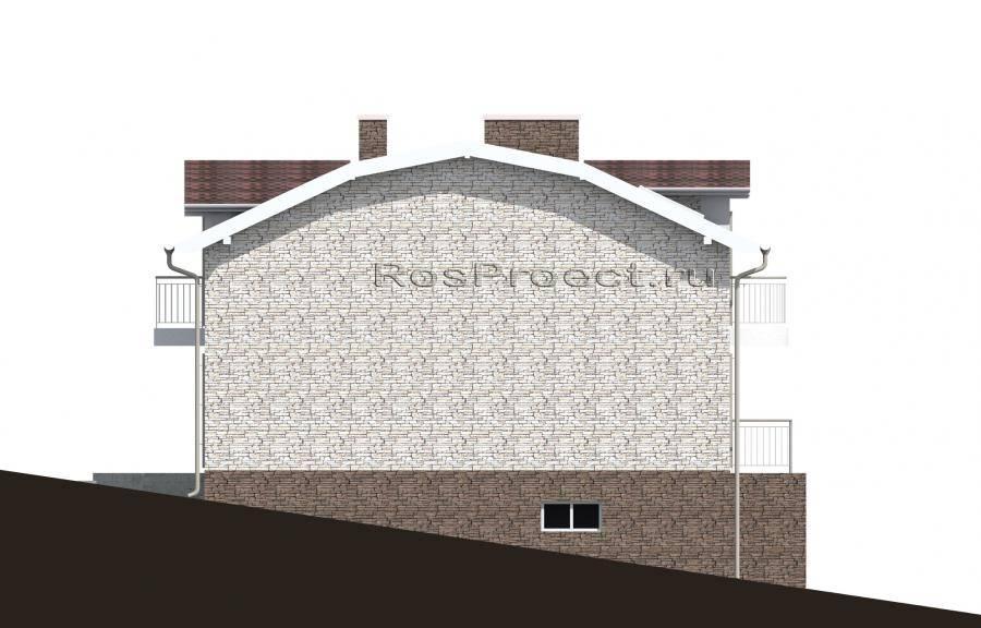 Проект и строительство дома с подземным гаражом