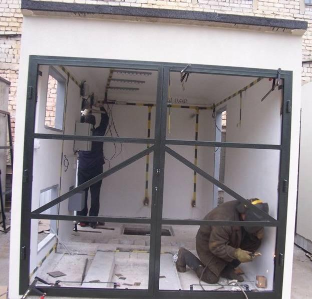 Как правильно выбрать секционные гаражные ворота