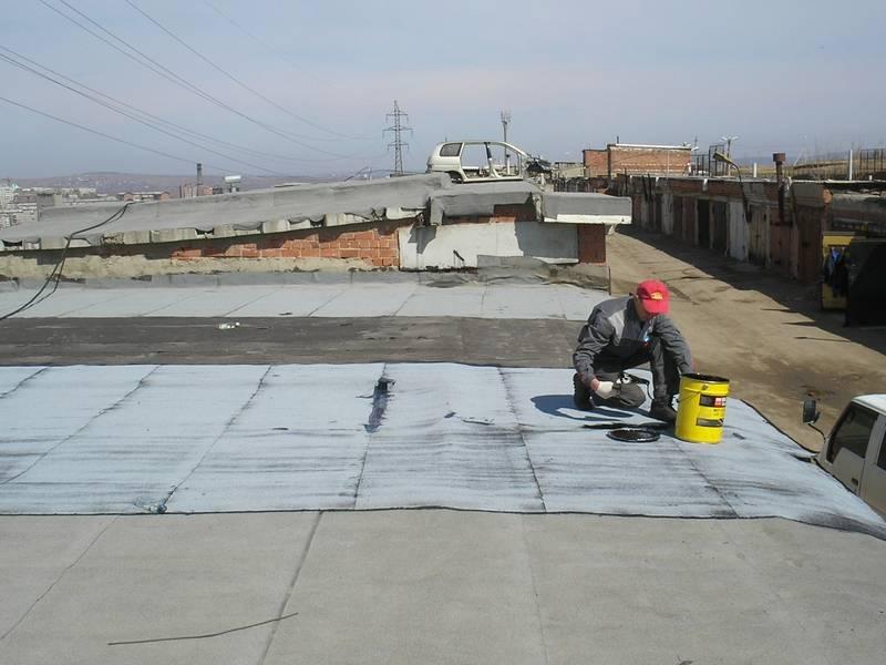 Ремонт крыши гаража — все способы своими руками