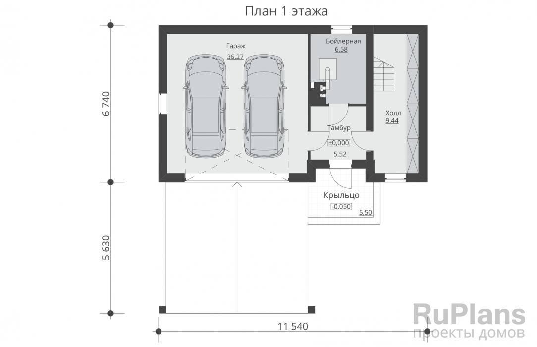 Дом с гаражом под одной крышей: 90 фото лучших проектов размещения
