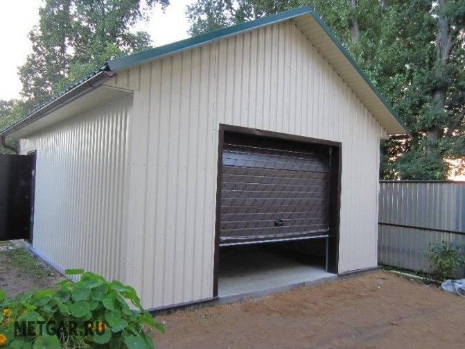 Технология сборки металлического гаража: подбор параметров и этапы монтажа