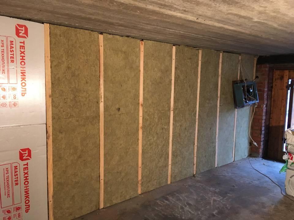 Как утеплить кирпичный гараж изнутри своими руками надежно и недорого