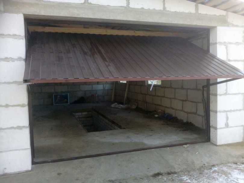 Как построить гараж на даче своими руками: фото, видео строительства и отделки, сооружение смотровой ямы