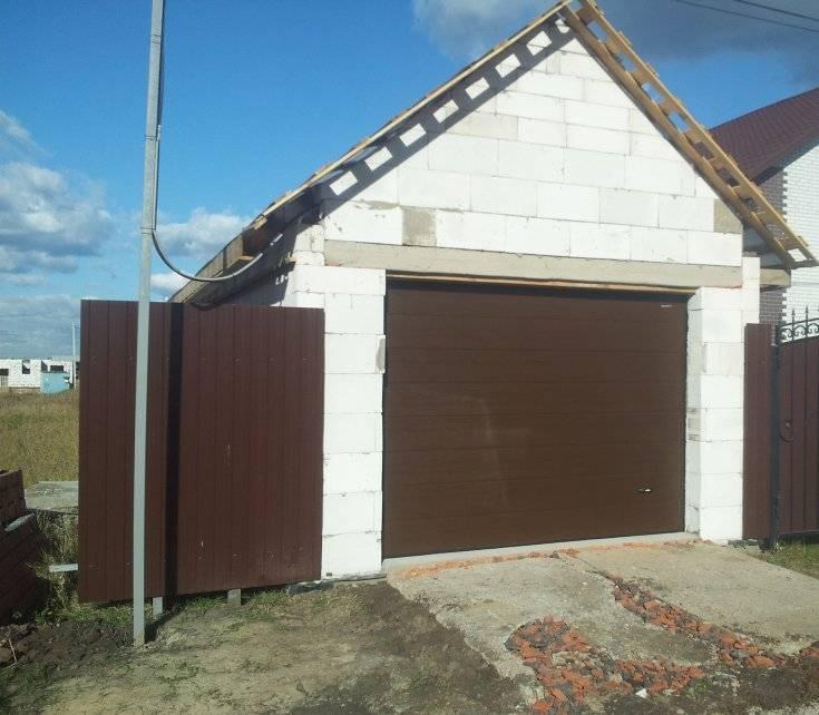 Из каких блоков построить гараж. как построить гараж своими руками: выбор материала и особенности возведения