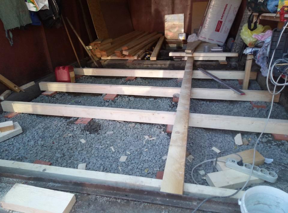 Пол в гараже: какой лучше сделать, чем покрыть, 10 лучших, дешевых материалов, гравий, дерево, плитка, бетон, резина, фото