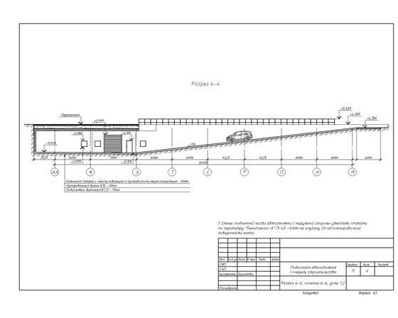 Нормы проектирования подземных парковок