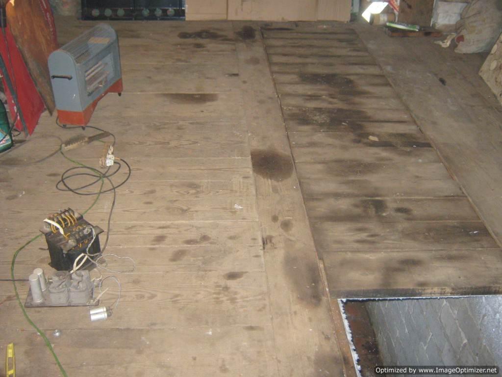 Как сделать деревянные полы в гараже собственными руками