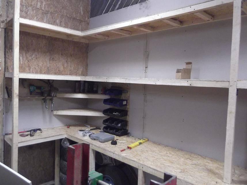 Как сделать полки в гараж — детальный взгляд на вопрос