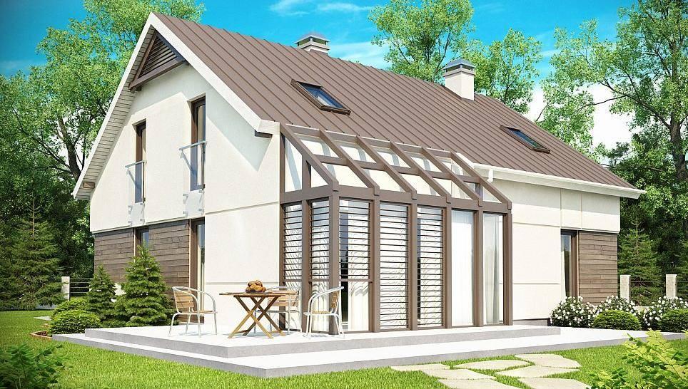 Тонкости возведения и типы каркасных домов с гаражом