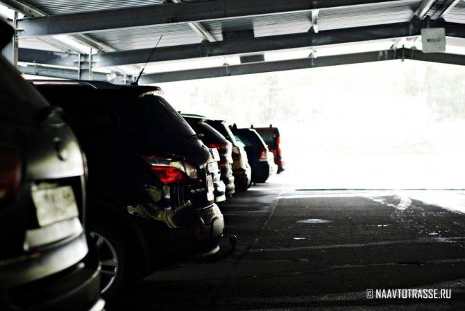 Консервация автомобиля на зиму в гараже