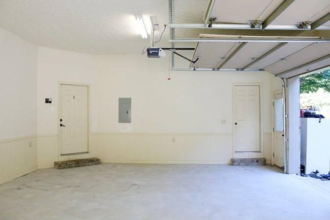 Что делать, если нужно покрасить бетонную стену в квартире или гараже? как правильно выбрать и нанести краску?